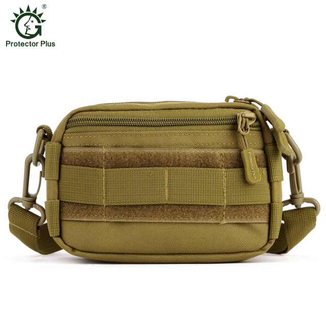 MOLLE Mini Crossbody Shoulder Men Nylon Waist Bag Heavy Duty Advanced Defense Ultra-light Range Tactics Gear Messenger Bags