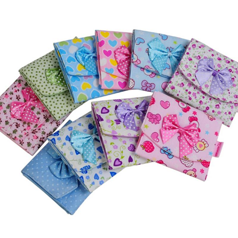 1Pc 10 5 10 5cm Napkins Organizer Sanitary Napkins Pads Carrying Easy Bag Small Articles Gather Pouch Case Bag Girl Women in Feminine Hygiene Product from Beauty Health
