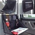 1 unid Negro Portátil Mesa de Escritorio Bandeja de Soporte Del Ordenador Portátil Plegable Del Coche Bolsa de asiento de Atrás para Q3 Q5 Escape Explorer F-150 Cívico CR-V