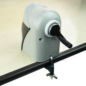 Image 5 - ABS Mechanical ดินสอมือ Crank เครื่องตัดดินสออุปกรณ์สำนักงานเครื่องเขียน