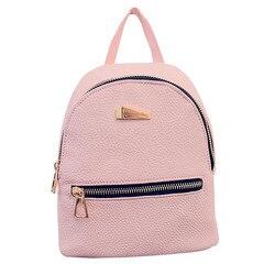 Women leather backpack hit color feminine school bags for teenagers rucksack leisure knapsack backpacks travel 19cm.jpg 250x250