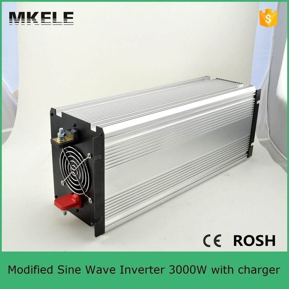 Inversor de corriente sinusoidal MKM3000 121G C modificado inversor de 3000 vatios ac 120 v dc12v convertidor inversor para uso doméstico con cargador - 2