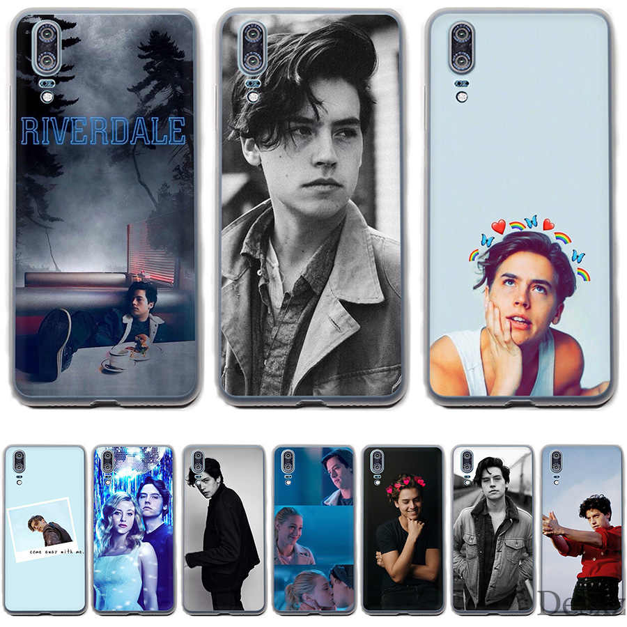 Phone Case Cover American TV Riverdale Series Cole Sprouse For Huawei P Smart P8 P9 P10 P20 Lite Pro P20pro 2015 2016 2017 Cases