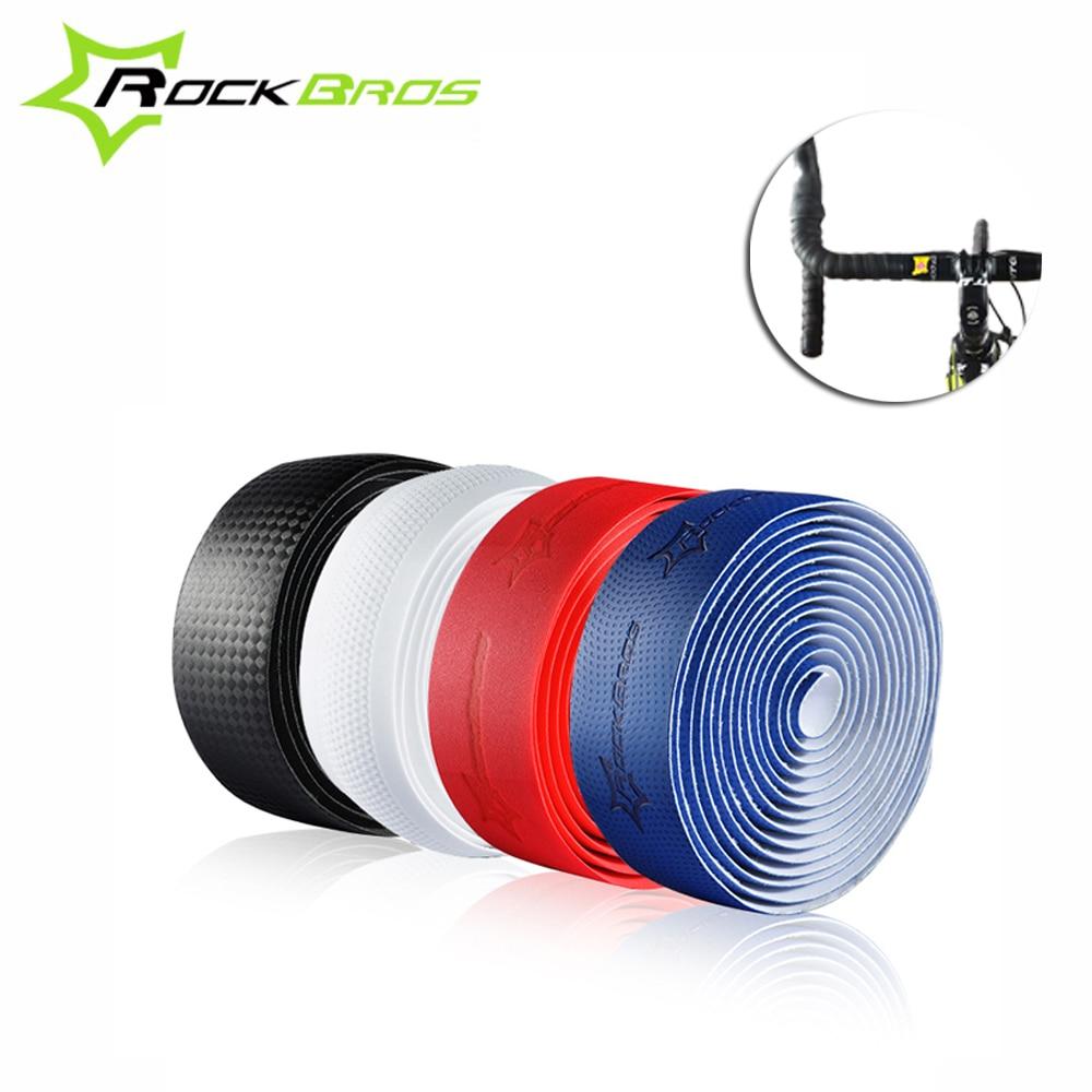ROCKBROS Anti-Slip Rennrad Lenker Grip Band Weiche EVA Fahrrad Lenker seil-bügel-verpackung Outdoor Radfahren Griff Gürtel für Fahrrad