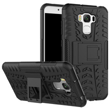 Zenfone 3 Max ZC553KL Case Hybrid Kickstand Rugged Rubber Armor Hard PC+TPU Back Cover Case for Asus Zenfone 3 Max ZC553KL 5.5