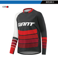 2019 Long Sleeves Giant cycling maillot ciclismo Moto motocross jersey mx dh downhill Bicycle Clothes off road Mountain spexcel