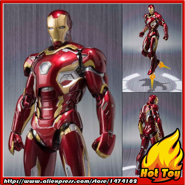 Original BANDAI Tamashii Nations S.H.Figuarts (SHF) Action Figure - Iron Man Mark 45 from Avengers 2 Age of Ultron anime captain america civil war original bandai tamashii nations shf s h figuarts action figure ant man