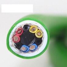 Hi End xangsan 8N OCC gümüş kaplama 6 çekirdek Hifi ses amplifikatörü hoparlör toplu güç kablosu