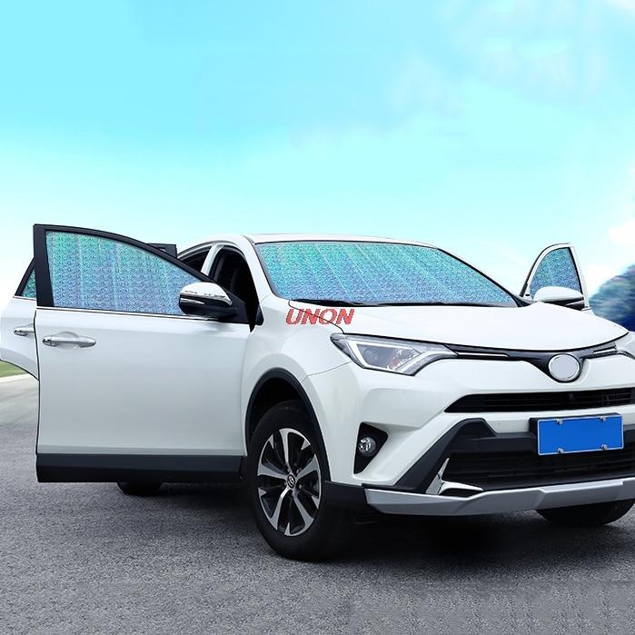 Pare-soleil de fenêtre de voiture pare-brise Auto pare-brise bloc couverture pare-brise de voiture pour Toyota RAV4 2017 2018 2019