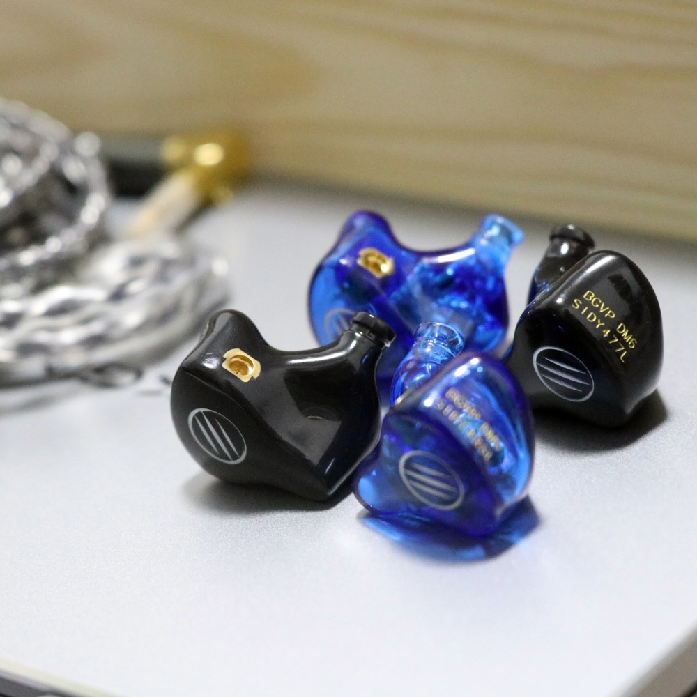 Image 5 - BGVP DM6 5BA In Ear Monitor/Earbuds Earphone MMCX Audiophile HiFi Monitor Customized Balanced Armature Drivers Earphone-in Earphones from Consumer Electronics