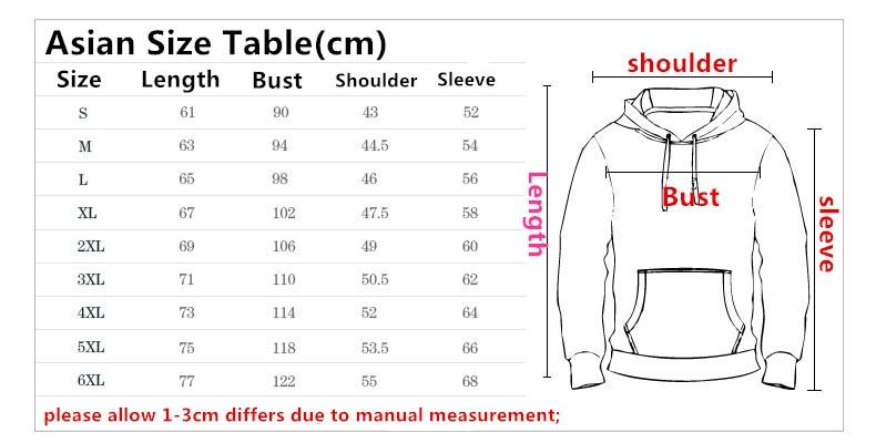 Sondirane New Fashion Men/women 3D Cool Hat Pocket Hoodies Print Character Funny Sweatshirts Long Sleeve Pullovers Hip Hop Tops