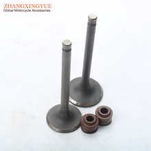 High quality motorcycle inlet and exhaust valve for HONDA CF70 C70 14711-GB5-761 14721-GB5-761