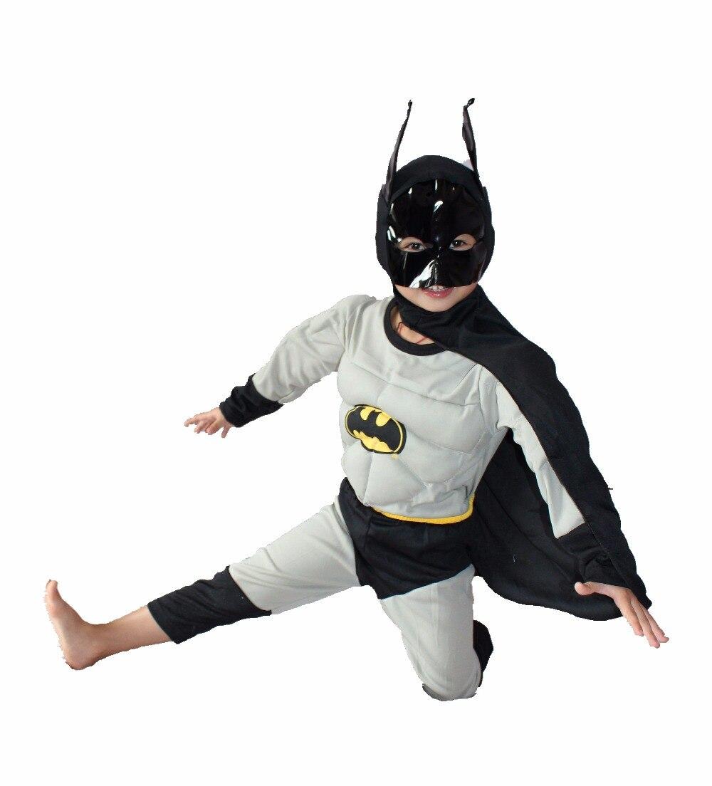 Boz 3-7 il Əyləncə Uşaqları Komik Marvel Batman Muscle Halloween - Karnaval kostyumlar - Fotoqrafiya 2
