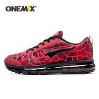 ONEMIX Hommes Chaussures De Course respirant Hommes Sport Chaussures De Course en plein air athlétique marche baskets grande taille 35-47 Chaussures