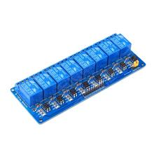 Free Shipping 2pcs 8 Channel Relay Module 5V Active Low Board for font b Arduino b