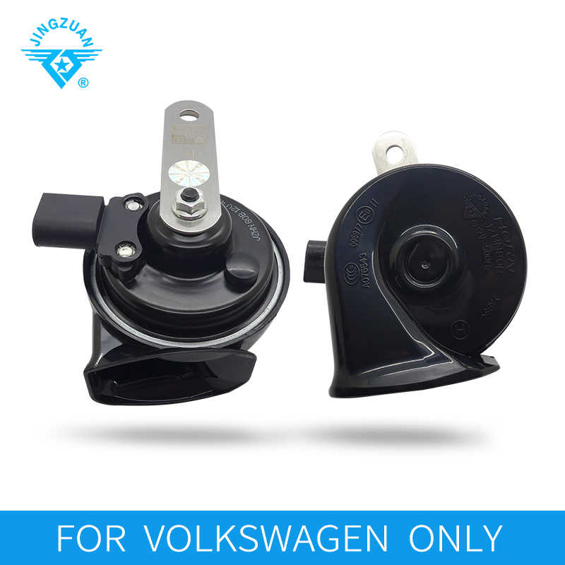 JINGZUAN 2019 New Arrival Patent Super Loud Snail Car Horn High Quality 12V Horn Waterproof 112DB 2PC FOR Volkswagen ONLY