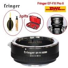 Fringer EF FX PRO II do Canon obiektyw ef do Fujifilm mocowanie automatyczne ustawianie ostrości Adapter kompatybilny z Fujifilm X H X T X PRO X E EF FX2 PRO