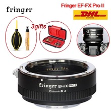 Fringer EF FX PRO II para objetivo Canon EF a Fujifilm, adaptador de enfoque automático Compatible con Fujifilm X H X T X PRO PRO