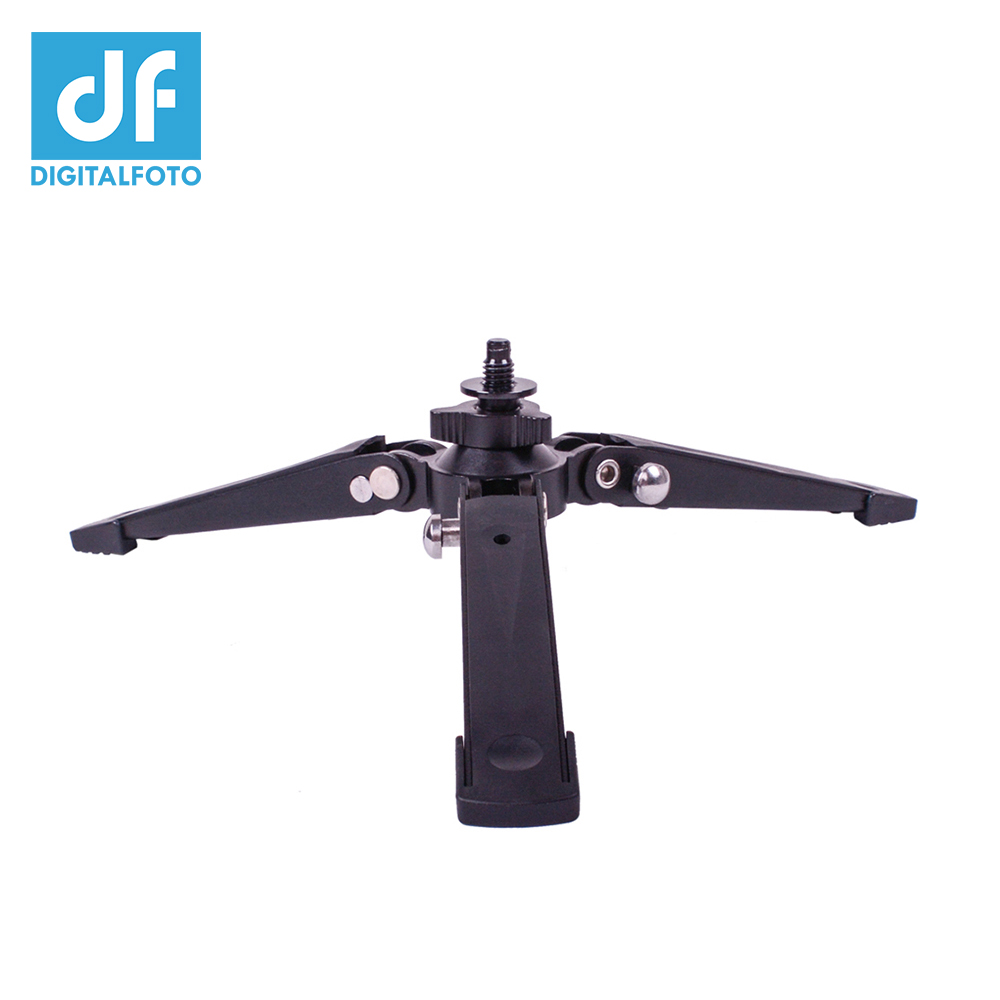 3/8 Support for video monopod 3KG bear metal +Alloy+Rubber Portable base desktop tripod Better than Benro ST1