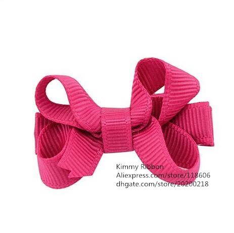 Оптовая продажа 200 шт. дешевые Рождество рыжие волосы луки для девочек, маленькая девочка волосы Луки