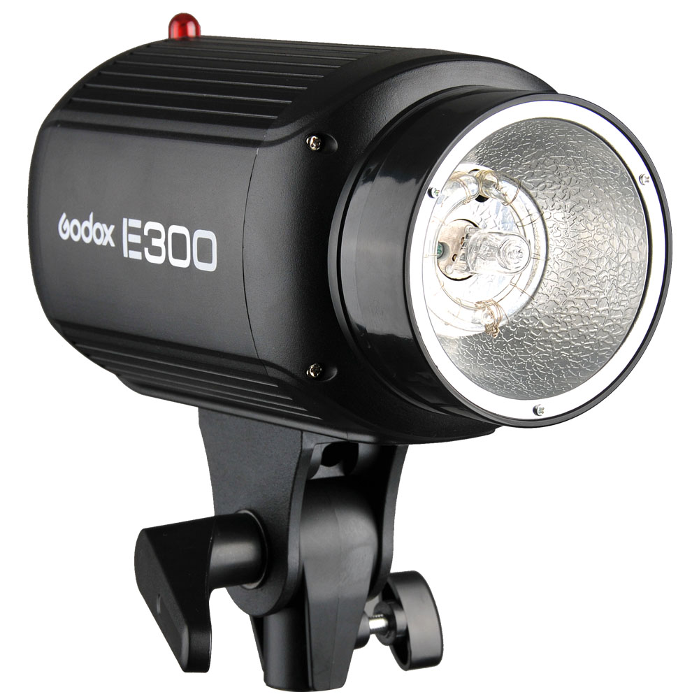 <font><b>Godox</b></font> <font><b>E300</b></font> Mini Photography Studio Strobe Flash Lighting Lamp Head 300W 220V image