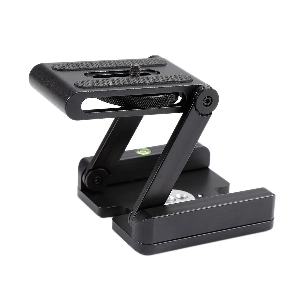 Folding Z Type Camera Tripod Head Solution Photography Studio Camera Flex Z pan Multi-angle Folding for DSLR Camera Camcorder