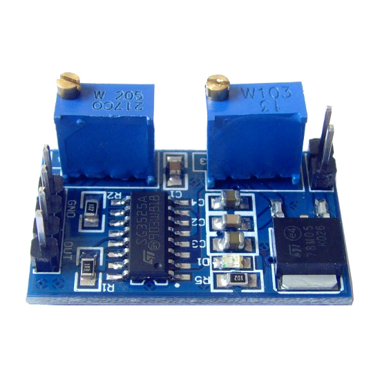 5pcs/lot <font><b>SG3525</b></font> PWM Controller <font><b>Module</b></font> 100Hz-100kHz Adjustable Frequency Supply Voltage 8V-12V image