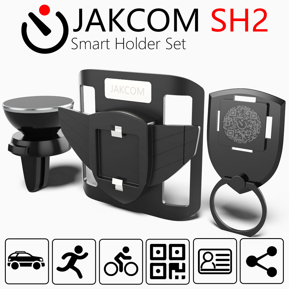 JAKCOM SH2 Smart Holder Set Hot Sale In Smart <font><b>Accessories</b></font> Multi-functional for Mobile Phone <font><b>Accessories</b></font> for car bike for sports