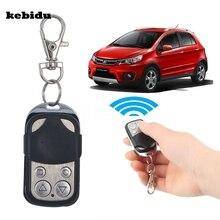 Kebidu اللاسلكية 433mhz السيارات التحكم عن بعد الكهربائية استنساخ بوابة باب المرآب التحكم عن بعد فوب مفتاح سلسلة المفاتيح التحكم عن بعد