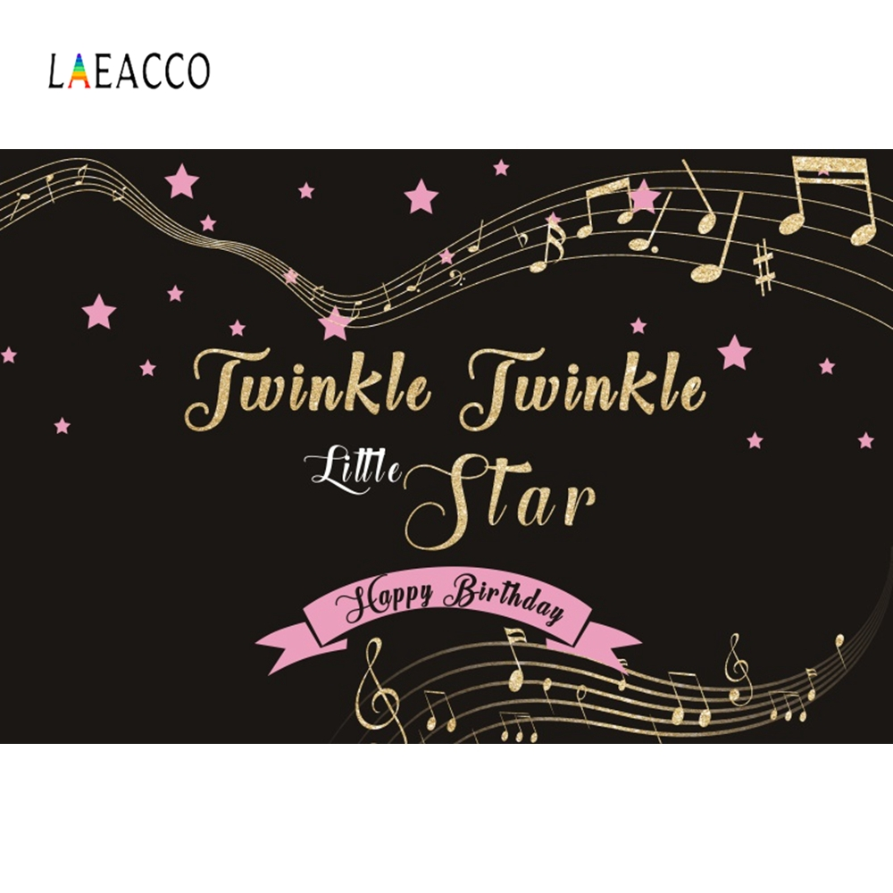 Laeacco Twinkle Little Star Backdrop Kids Portrait Photography Backgrounds Customized Photographic Backdrops For Photo Studio in Background from Consumer Electronics