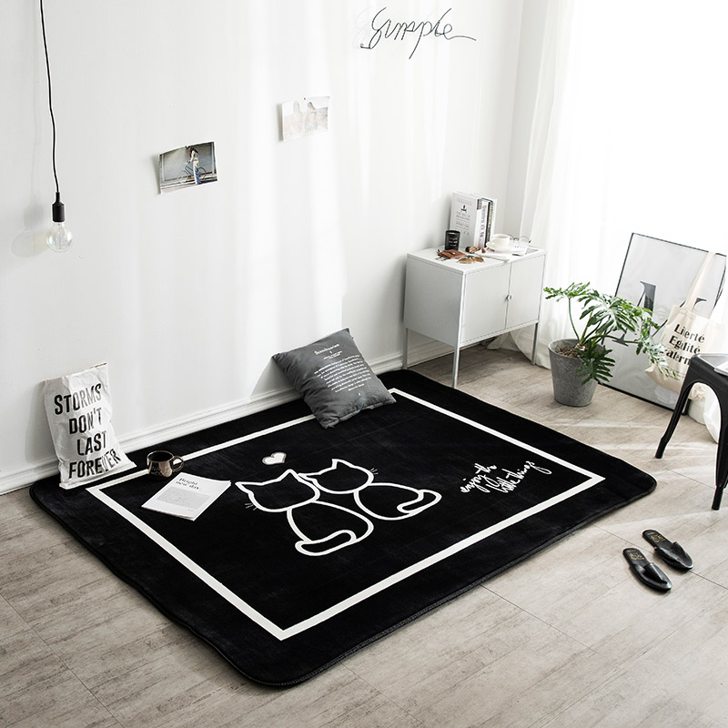 Tapis salon tapis chambre tapis table basse tapis tapis enfant tapis de jeu polychromatique en option