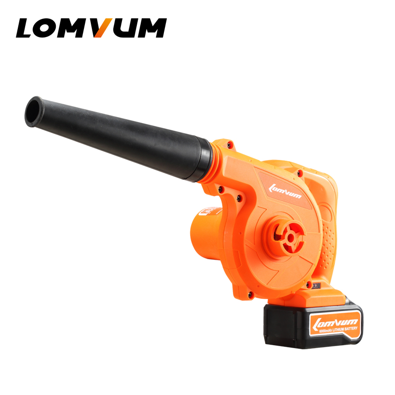 LOMVUM 1200w Hand Operated Electric Blower Air Blower Cleaning Computer Dust Soplador lithium-ion battery  цены