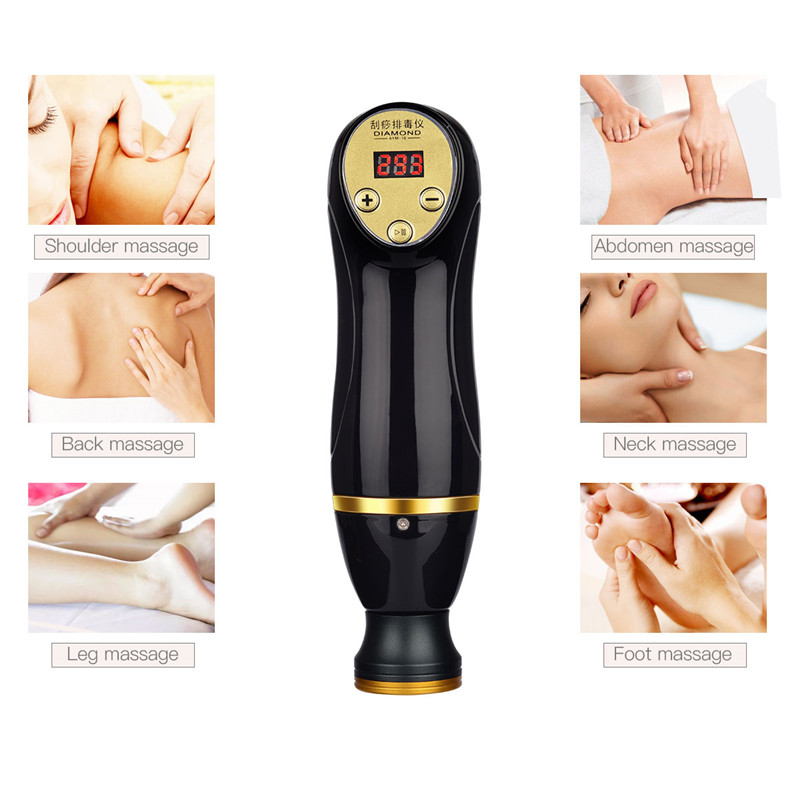 Chinese Traditional Gua Sha Scrape Therapy Detoxification Instrument Massage Lose Weight Expel Toxins Dispel Wet & Cold S46Chinese Traditional Gua Sha Scrape Therapy Detoxification Instrument Massage Lose Weight Expel Toxins Dispel Wet & Cold S46