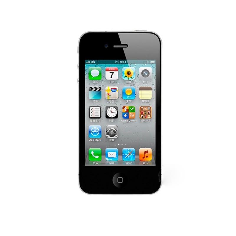 Apple iphone 4S, telefone celular, original, desbloqueado de fábrica, dual core, 16gb/32gb/64gb, câmera 8mp telefone gps 3.5 ''touchscreen usado 4
