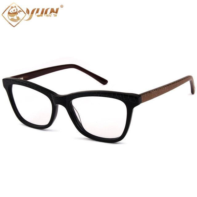 2017 chegada Nova itália design óculos de acetato quadro vidros ópticos para as mulheres homens armação dos óculos de miopia alta qualidade óculos A01