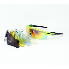5 Lenses Polarized Cycling Glasses Men Women UV400 Sunglasses MTB Bike Riding Mountain Bicycle Glass EV Evzero TR90