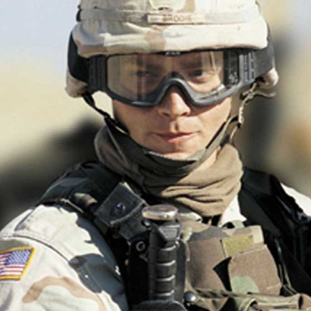 軍事プロフィール写真