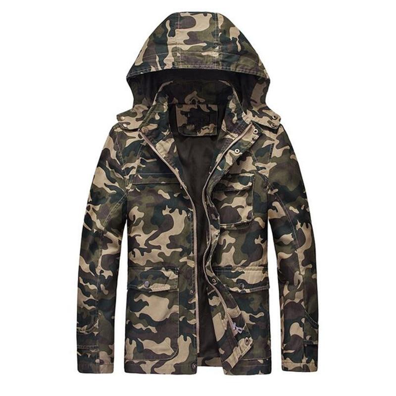 위장 재킷 남자 2017 새로운 Hoy 판매 후드 유니폼 남성 자켓 윈드 자켓 남성 자켓 특수 부대 코트 4XL