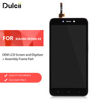 Dulcii For Xiaomi Redmi 4X OEM LCD Screen And Digitizer Assembly Frame Part For Xiomi Redmi