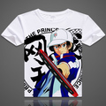 The prince of Tennis T-shirt Anime Ryoma Echizen Cosplay Short Sleeve T shirt Tezuka Kunimitsu Breathable Tees