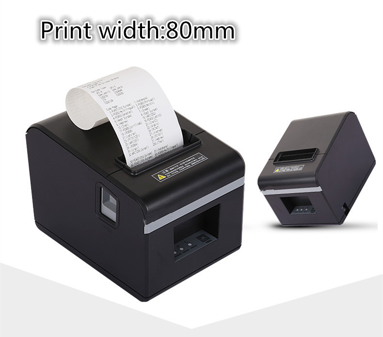 Новый список оптовая продажа мм Высокое качество 80 мм тепловой небольшой билет чековый принтер автоматической резки печати USB порт или порт...