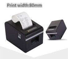 Новый список оптовая продажа мм Высокое качество 80 мм тепловой небольшой билет чековый принтер автоматической резки печати USB порт или порт Ethernet