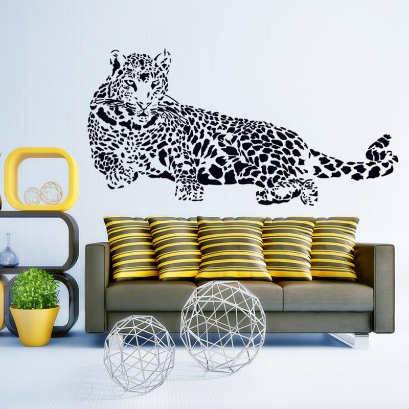 popular cheetah wall decal buy cheap cheetah wall decal cheetah spot heart with custom text vinyl wall decal