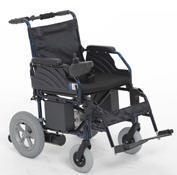 Chaud léger pliant roue arrière double fauteuil roulant électrique hbd2-a22 fauteuil roulant