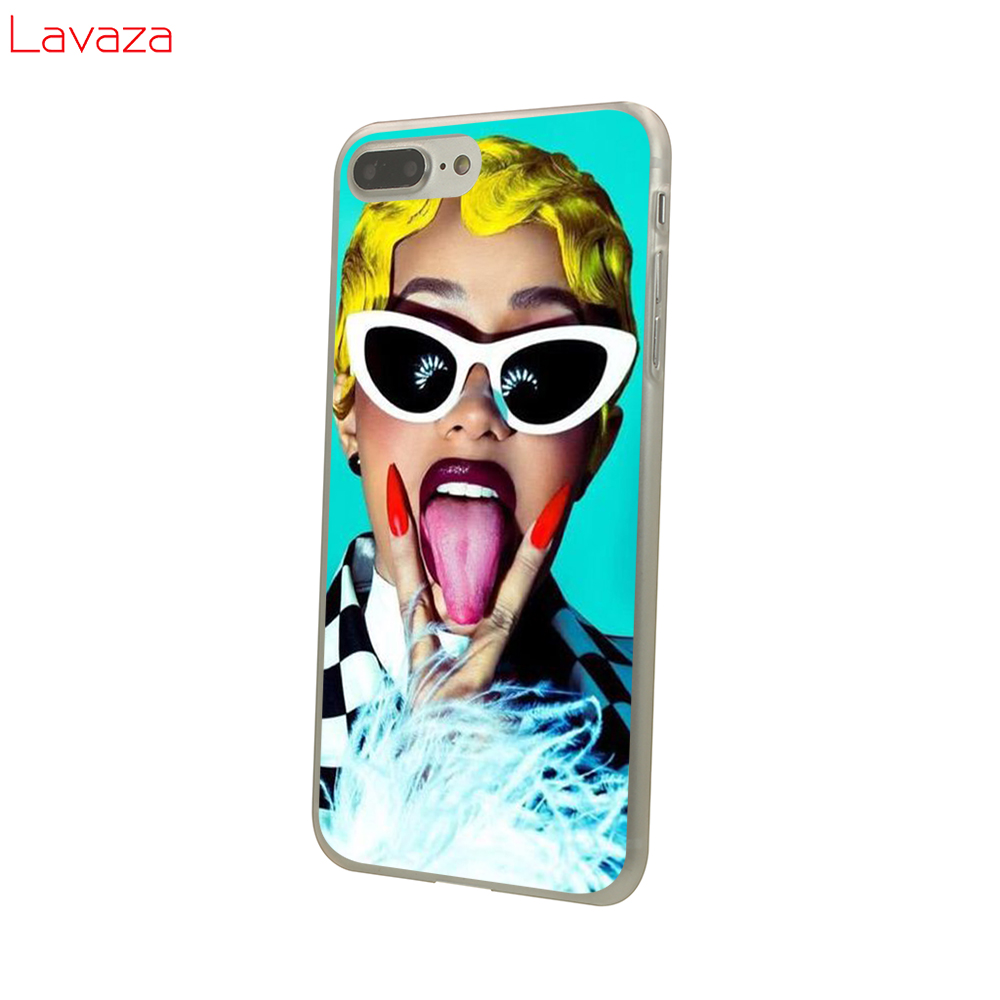 Lavaza Cardi B Belcalis Almanzar Hard Case for POCOPHONE F1 for Xiaomi A2 8 9 SE Lite A1 Max 3 for Redmi Note 7 Pro Cover in Half wrapped Cases from Cellphones Telecommunications