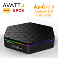 5 pcs/DHL Atacado T95z Plus 2 GB/16 GB Amlogic S912 Octa Android 6.0 Caixa de TV Inteligente-core Kodi 17 Carregar Totalmente, 5G-WIFI, BT4.0, 4 K, H.265