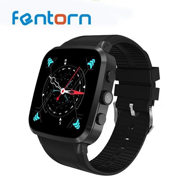Fentorn N8 3 г Wi-Fi умные часы Android 5.1 MTK6580 Bluetooth SmartWatch телефон Поддержка сим-карты с 5.0 м Камера спортивные часы с GPS
