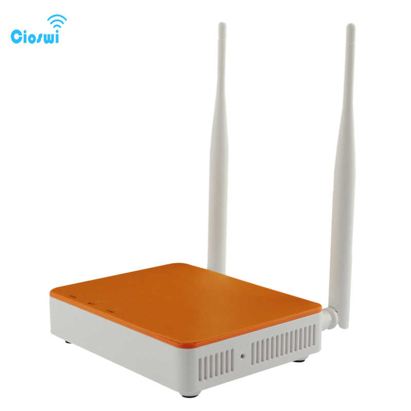Cioswi Indoor Router Wifi 300Mbps Routers Access Point Smart APP Manage  Easy Setup With 4 Lan and 2 External Antenna Wifi Router