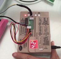 LVDS Panel Test Tool LCD LED Screen Tester Built In 53 Kinds Of Program English Instruction