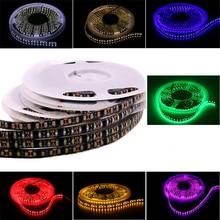 5 м 600 светодиодный s Светодиодные ленты света DC12V/24 V Водонепроницаемая лента холодный белый/теплый белый/синий/зеленый/желтый/красный/розовый украшения дома